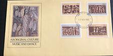 Australia fdc 1982 Aboriginal Culture Music And Dance