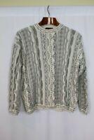 Vintage Tosani Men's Multicolor 80's Streetwear Sweater Coogi Style Size M