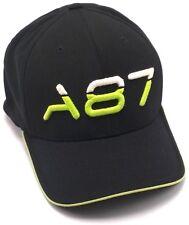 AEROPOSTALE A87 FLEXFIT black fitted cap / hat size L / XL