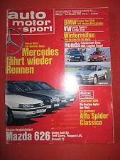 AUTO-motor-sport n. 22 dell'ottobre 1987-un pezzo di storia contemporanea-guardare