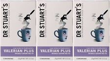 Dr Stuart's Valerian Plus - 15 Bags (Pack of 3)