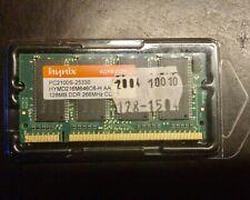Hynix PC2100S-25330 128MB DDR 266 MHz für Apple ibook 12,1 / 14,1?