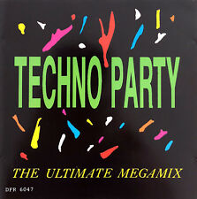 Compilation ‎CD Techno Party - The Ultimate Megamix - Holland (EX/VG)