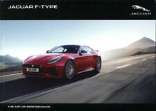 Jaguar F-Type Coupe and Convertible S R SVR UK market brochure 2017