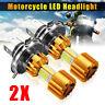 2 x 18W 2000LM moto LED 6000K COB 3 Hi/Lo fascio luce Lampada H4