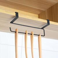 Under Cupboard Unit Shelf Kitchen Paper Towel Roll Holder Hanger Storage-Rack