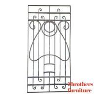Antique Victorian Iron Gate Window Garden Fence Architectural Salvage #795