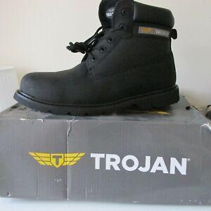 6M9700 TROJAN Castor Black S3 Safety Boots