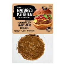 Coles Nature's Kitchen Meat Free Smokey Grill Burgers 250g