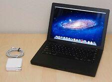 "Apple MacBook 13"" Black - 2.4GHz Intel C2D| 2GB Ram| 250GB HD| Superdrive| Lion"