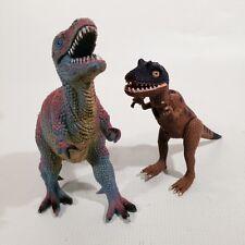 Allosaurus Posable 2001 K&M Int & Dinosaur Pretend Play Prehistoric Toys