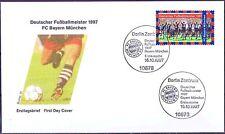 BRD 1997: Bayern Meister! FDC der Nr. 1958! Berliner Sonderstempel! 1708