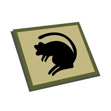 4th INFANTRY BRIGADE STICKER - BRITISH ARMY - The Black Rats - 4th Armoured