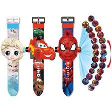 Reloj digital Relojes De Princesa Spiderman Para Niños inspiró, con diseño de dibujos