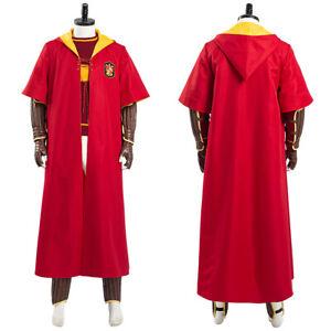 Gryffindor Quidditch Cosplay Costume Halloween Outfit Uniform