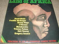 Land Of Africa RAS Records LP 1985 Reggae Hinds Third World Bunny Rugs I-Threes