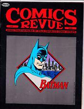 """Comics Revue No 45-1990-Strip Reprints- """"Batman Cover!  """""""