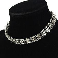 1pc Woman Lady Punk Pendant Chocker Collar Necklace Statement Bib Jewelry