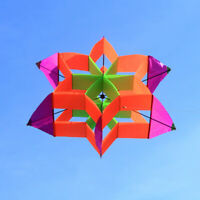 New Style 3D Flower Kite With Handle & Line  Outdoor sports Toy for Kids
