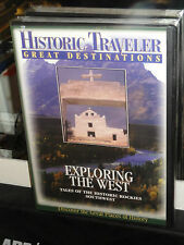 Exploring The West - Historic Traveler Great Destinations (DVD) Travel Channel!
