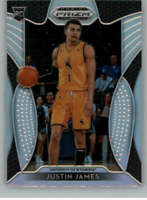 2019-20 Panini Prizm Draft Picks Silver #39 Justin James RC