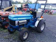 1986 Ford 1210 16hp 2Wd diesel garden tractor.