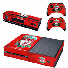 Liverpool Xbox One Console SKIN + 2 x Controller Stickers Decal FacePlate - Pad