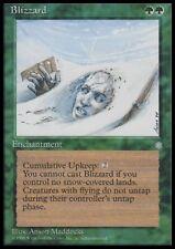 MTG 4x BLIZZARD - Ice Age *Rare Enchantment*