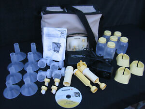 ADVANCED PERSONAL DOUBLE BREAST PUMP SHOULDER BAG WITH ACCESSORIES