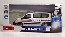 MONDOMOTORS 53133 - Furgone PEUGEOT POLICE - Security FRANCE 1:43