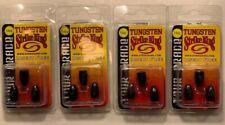 Strike King 1/4 oz Tungsten Weights Tour Grade Insert Free Black