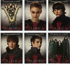 Twilight Eclipse 6 Card Volturi Set