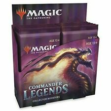2020 MTG Magic Commander Legends COLLECTOR Booster Box SEALED PREORDER!