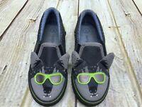 Cat & Jack Toddler Boys Bat  Slip On Sneakers Gray Size 9