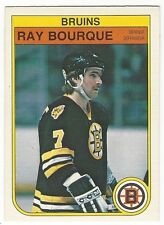 1982-83 OPC HOCKEY #7 RAY BOURQUE - EX-/EX