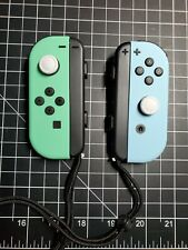 Nintendo Switch Joycons Animal Crossing Mint Green+ Blue