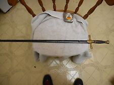 """VINTAGE MASONIC SWORD -- w/ SCABBARD --1890-1920 --- 34"""" overall--FAST SHIPPING"""