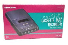 Radio Shack Portable Cassette Tape Recorder Ctr-102 Iob