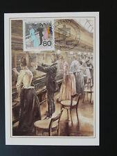 postal history telephone center maximum card Germany ref 05-10 Bonn