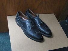 size 11 C Allen Edmonds MacNeil black leather dress shoes wingtip oxford