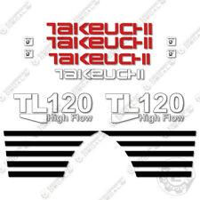 Takeuchi TL 120 Mini Escavatore Decalcomanie Equipaggiamento TL120 TL-120