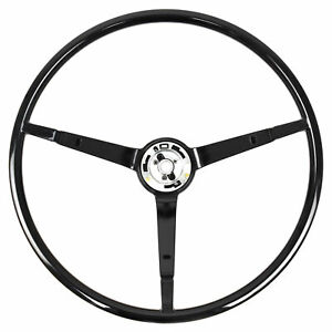 65 66 Ford Mustang Steering Wheel ONLY, Standard, Black