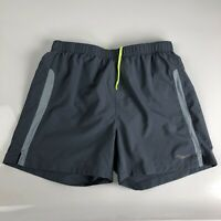 Saucony Mens Gray Activewear Shorts Size M