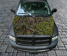 H81 CAMO DEER HUNTING Hood Wrap Wraps Decal Sticker Tint Vinyl Image Graphic