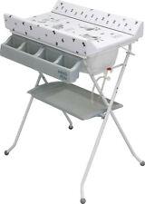 Combi table à langer et bain - pliable avec baignoire - bébé couche bain propre