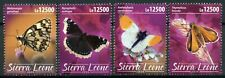 Sierra Leone Butterflies Stamps 2020 MNH Mourning Cloak Butterfly Insects 4v Set