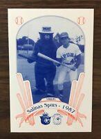 1987 Smokey the Bear  SALINAS SPURS  Minor League Team Set * VISQUEL  A1105123