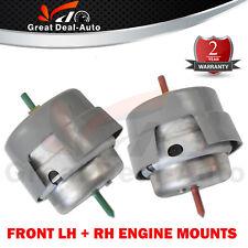 For Audi A4 B6 B7 Front LH & RH Engine Mount Set 1.8L 2.0L 01-08 Auto / Manual