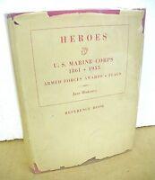 Heroes U.S. Marine Corps 1861-1955 Armed Forces Awards Flags by Jane Blakeney