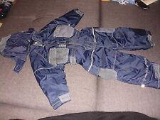 Schneeanzug, Gr.: 92  Kinder Jungen + Mädchen Pippi kidswear in blau Matchanzug